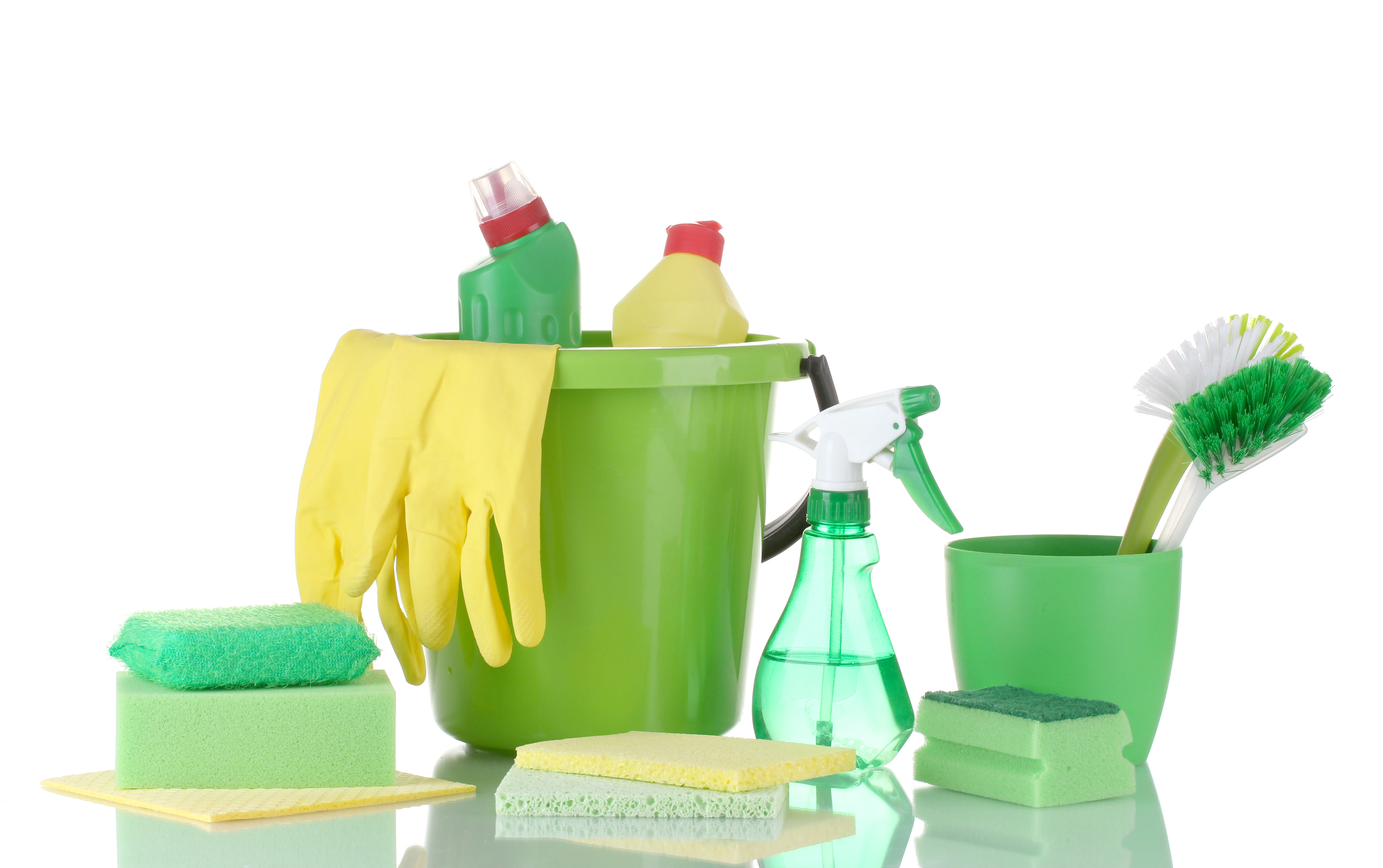 Green Cleaning Solutions Found In Your Home
